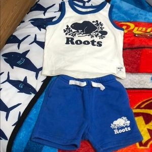 Baby boys ROOTS outfit 💙 🇨🇦